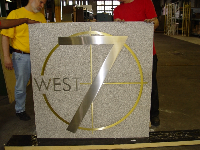 West7 Sign